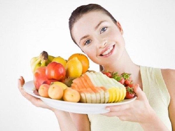 Bổ sung chất dinh dưỡng đầy đủ để khắc phục niềng răng bị hóp má