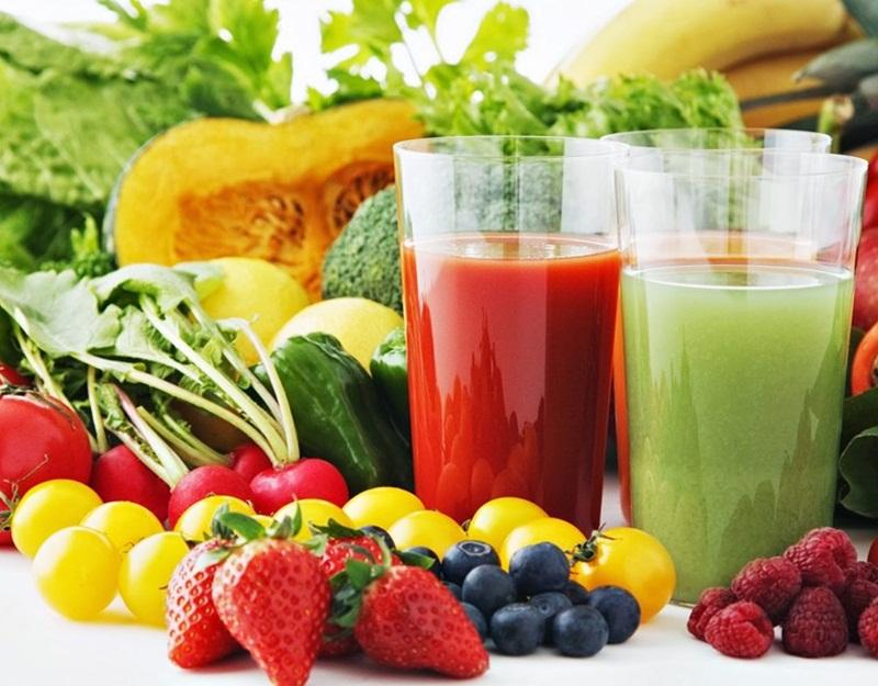 Bổ sung các loại nước ép, giàu vitamin