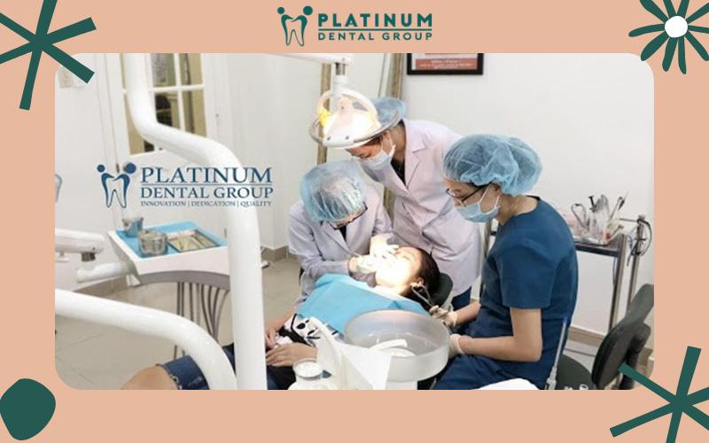 Nha Khoa Platinum sở hữu đội ngũ bác sĩ chuyên môn cao và có nhiều năm kinh nghiệm
