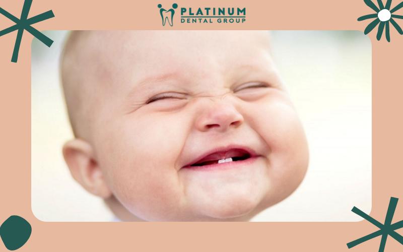 Quá trình mọc răng ở trẻ nhỏ